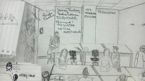 dibujo de estudiante, presionar para ver más grande